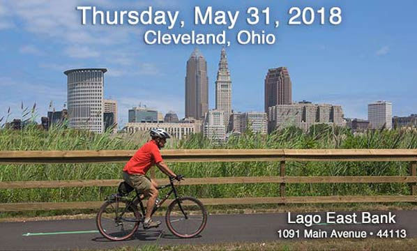 2018 Conference Thursday, May 31  in Cleveland at Lago East Bank